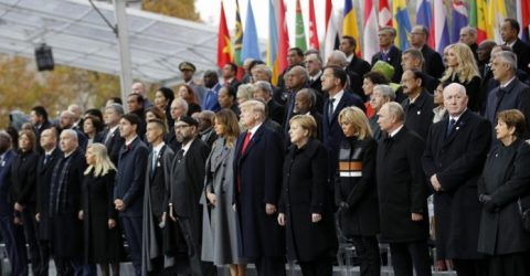 World leaders mark 100 years since WWI Armistice in Paris