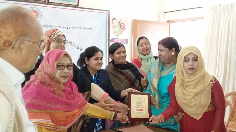 2 women honoured with Joyeeta award in Kamalganj