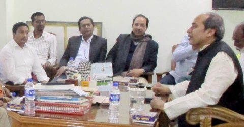 Journalists promises to stay beside Habiganj-3 MP Abu Zahir
