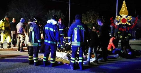 Six dead, dozens hurt in Italy nightclub stampede