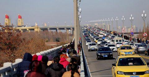 China's landmark Yangtze river bridge reopens to traffic
