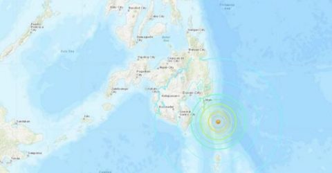 6.9-magnitude quake strikes off southern Philippines: USGS