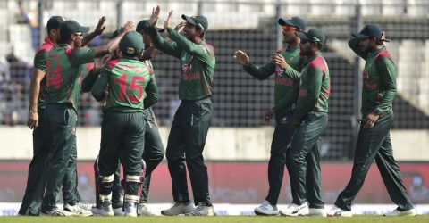 Bangladesh beat West Indies by 5 wickets in 1st ODI