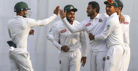 Miraz-Shakib put WI in back foot in second Test