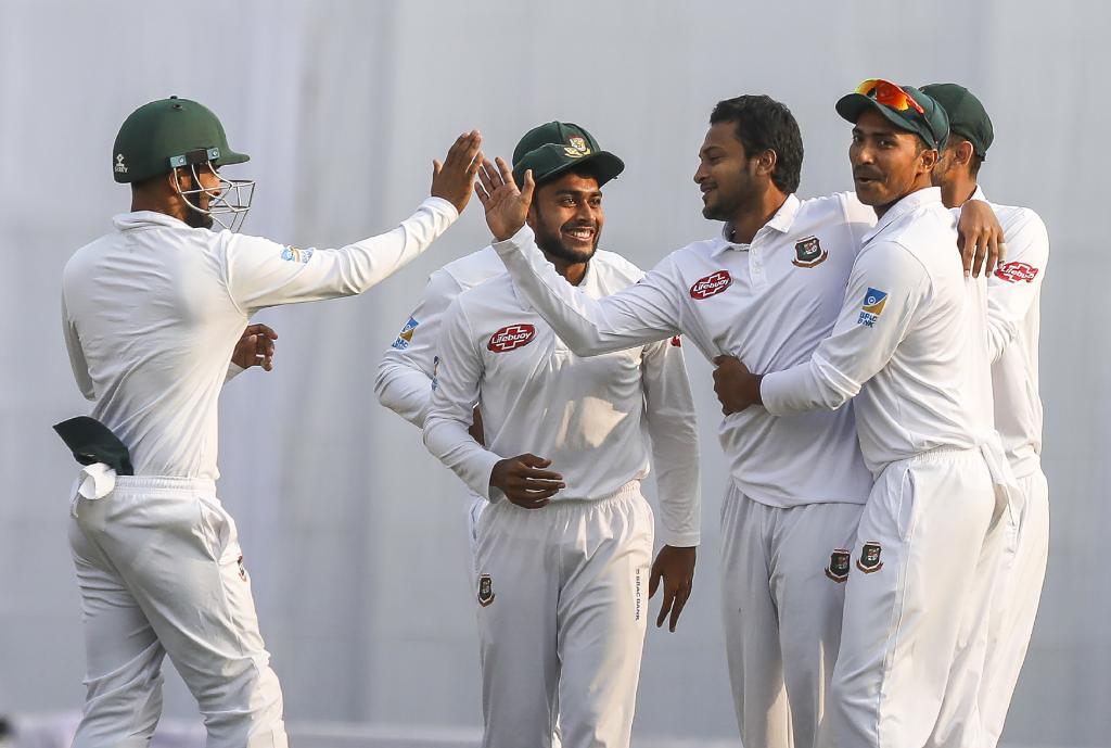 Miraz-Shakib put WI in back foot in second Test