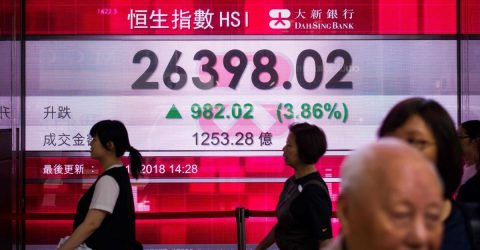 Hong Kong stocks open slightly higher