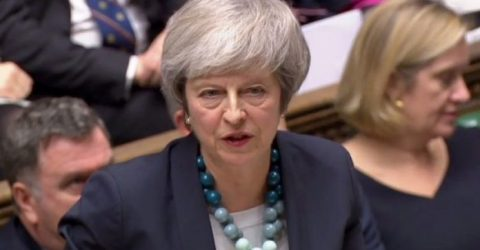 May faces angry MPs with Brexit deal in limbo