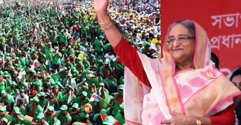 Sheikh Hasina to begin her campaign from Gopalganj