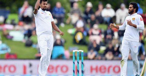 Sri Lanka's tireless Lakmal has New Zealand reeling
