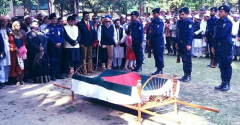 Taramon laid to eternal rest with state honour