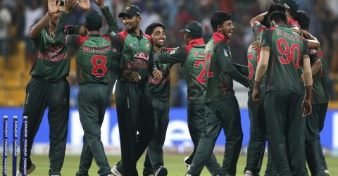 WI set 196-run winning target for Bangladesh in 1st ODI