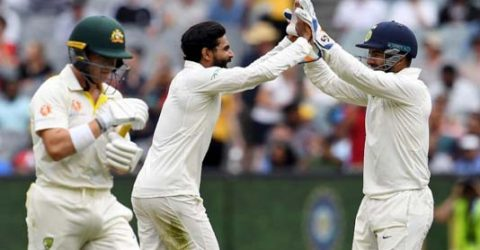 India zero in on Test win after setting Australia 399 to win
