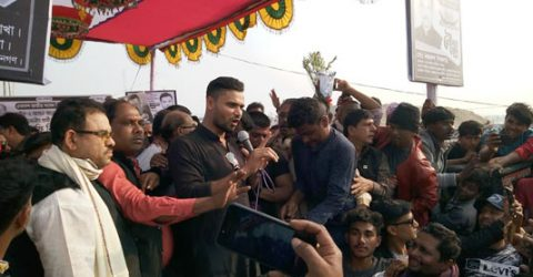 Mashrafe addresses poll rallies in Narail