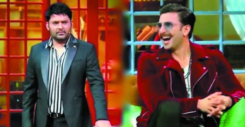Kapil leaves Ranveer and Sara rolling with laughter
