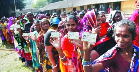 Counting on after voting; 15 killed in violence