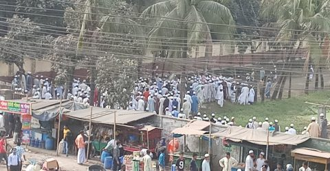 One killed in clash over Biswa Ijtema