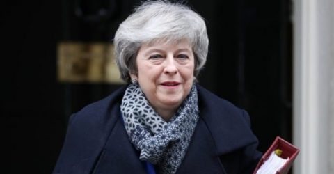 UK PM May refuses to rule out 'no-deal' Brexit