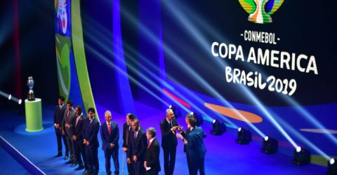 Brazil given kind Copa America draw, Argentina land Colombia