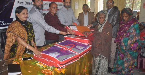 Pally Life Development Society (PLDS), blankets distribution held at Barishal-Jhalakathi and Patuakhali.