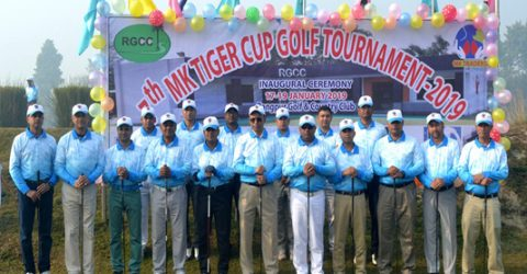 MK Tiger Cup Golf Tournament begins in Rangpur