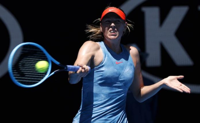 Ruthless Sharapova makes point with Dart double bagel
