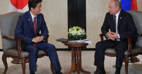 'Not partners': Abe, Putin on collision course over islands