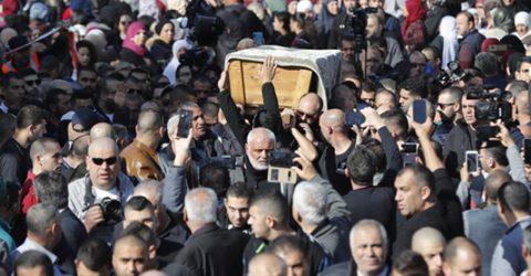 Thousands at funeral of Arab Israeli killed in Australia