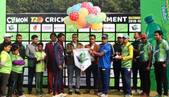 Clemon cricket tournament begins in Rajshahi