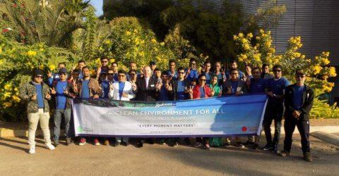 Radisson Blu Chattogram: Spreading Awareness through cleanig