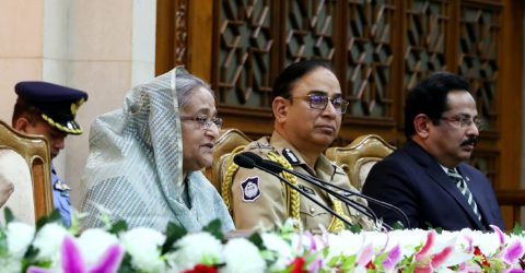 Play due role in ensuring constitutional stability : PM to Armed Forces