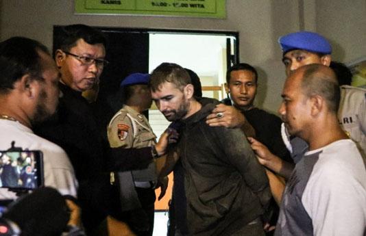 Indonesia recaptures French drug suspect after jailbreak