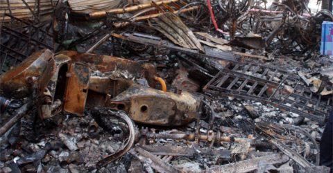 Authorities wrap up rescue campaign as inferno kills 68