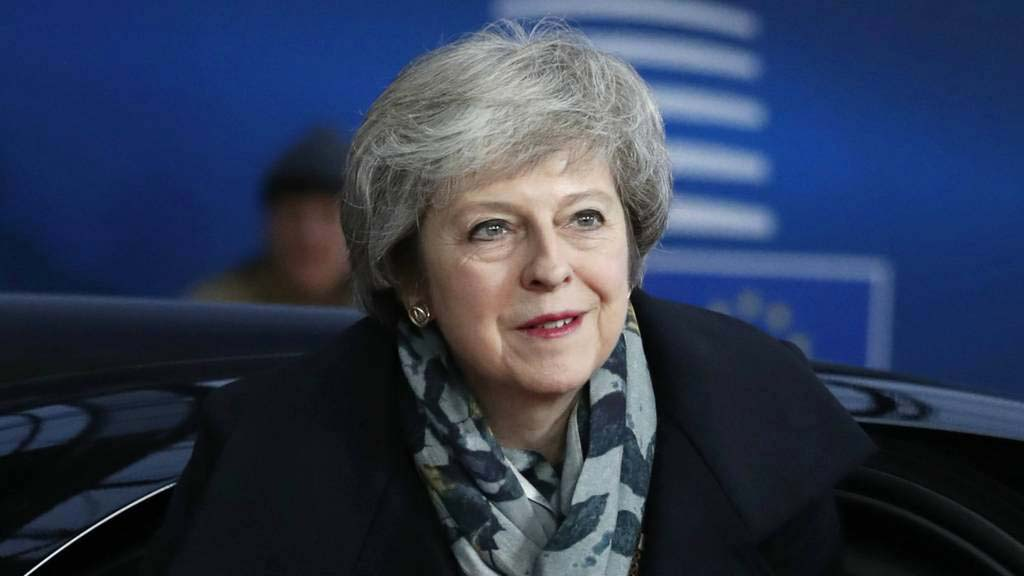 May brings Brexit tour back to Brussels
