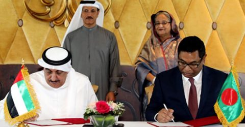 Bangladesh, UAE sign four MoUs