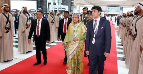 PM reaches Abu Dhabi