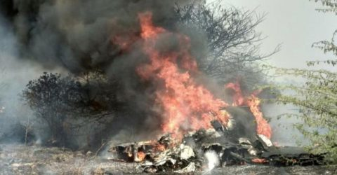 Two pilots dead as fighter jet crashes in Bengaluru