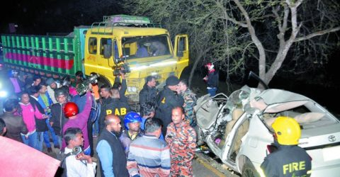 5 BCL, Jubo League men killed in Khulna road crash