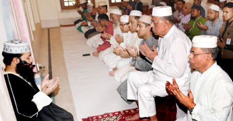 President attends doa for Chawkbazar fire victims