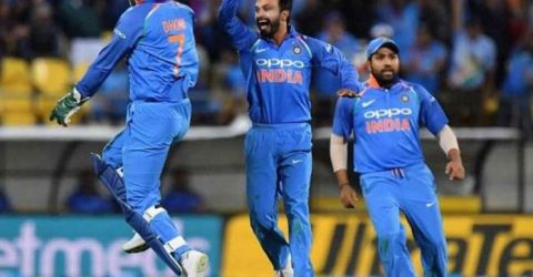 India win 5th ODI against New Zealand, take series 4-1