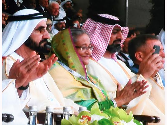PM attends defence exhibition in Abu Dhabi