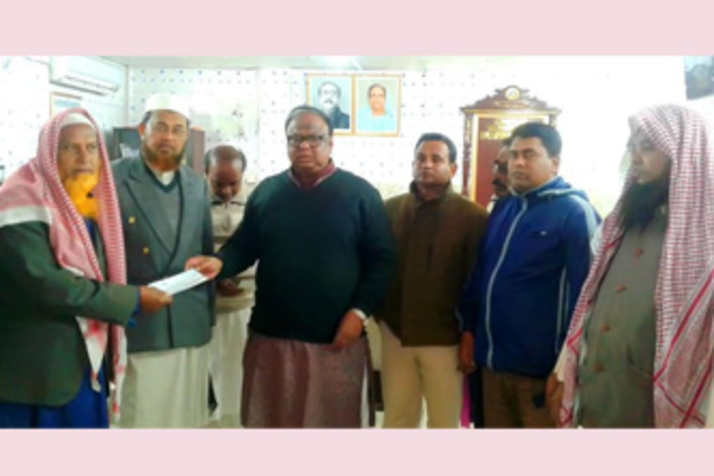 Rajshahi Zila Parishad distributes Tk 6.80 lakh to uplift projects