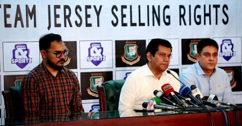 BCB to sell national team's jersey to create hype of ICC World Cup