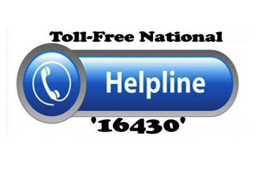 1.85 lakh women received legal help through Nat'l helpline '16430'