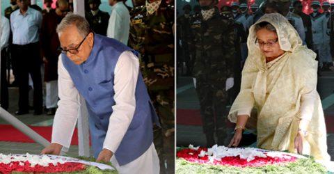 President, PM pay homage to Bangabandhu on his 100th birthday