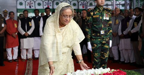 PM pays homage to Bangabandhu on his 100th birthday