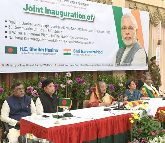 Bangladesh-India ties a role model for rest of the world: PM