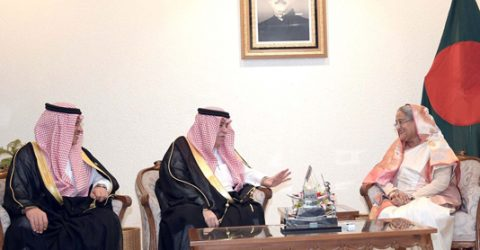 Saudi King keen to promote ties with Bangladesh, PM told