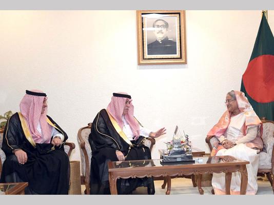 Saudi King keen to promote ties with Bangladesh, PM told