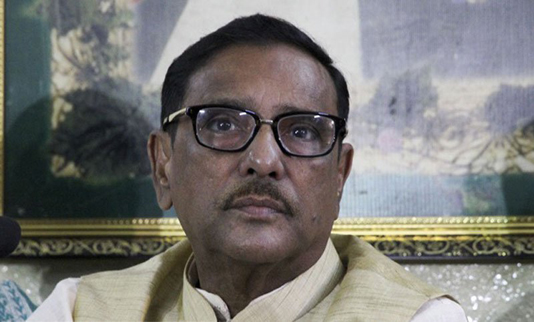 Quader urges BNP to lodge allegations with people, not foreigners