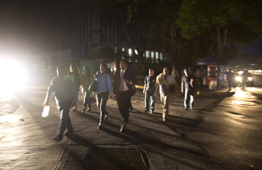 Venezuela struggles with blackout as government claims sabotage